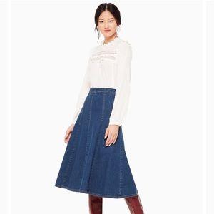 Kate Spade New York Denim Jean Skirt